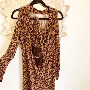 Michael Kors Leopard Print Dress